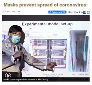 Do masks prevent spread of COVID-19? research results and video